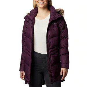 Columbia Purple Mid Insulated Puffer Jacket 2X